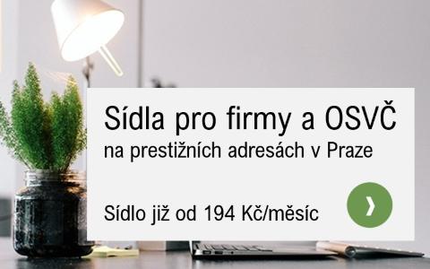 Sidla firem v Praze